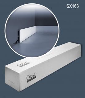Orac Decor SX163-box 1 Karton SET mit 26 Sockelleisten Wandleisten 52 m