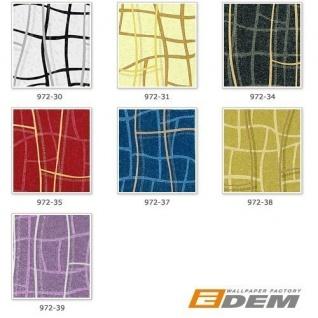 Grafik Tapete Vliestapete EDEM 972-39 XXL Objekttapete abstrakte 3D Netzstruktur Linien Flieder violett silber 10, 65 qm - Vorschau 4
