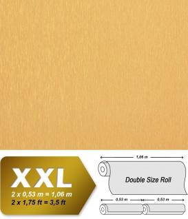 Uni Tapete XXL Vliestapete EDEM 937-22 Feine geprägte Struktur hochwertige Ton-in-Ton Tapete orange braun 10, 65 m2