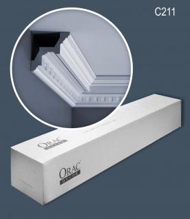 Orac Decor C211 LUXXUS 1 Karton SET mit 12 Eckleisten Stuckleisten   24 m