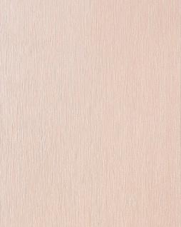 Uni Tapete EDEM 141-03 Elegante Tapete Vinyltapete leicht gestreift hell beige-rot perlmutt
