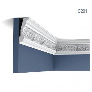 Stuck Zierleiste Orac Decor C201 LUXXUS Eckleiste leiste Profilleiste dekor Decken Wand Leiste 2 Meter