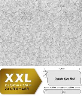 Struktur Tapete EDEM 309-60 XXL Vliestapete zum Überstreichen streichbar spachtel-putz-dekor maler weiß | 26, 50 qm - Vorschau 2