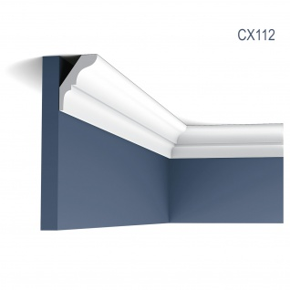 Zierleiste Profilleiste Orac Decor CX112 AXXENT Stuck Profil Eckleiste Wand Leiste Decken Leiste 2 Meter