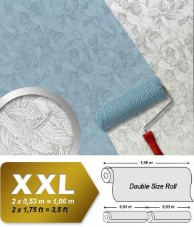 Vliestapete zum Überstreichen EDEM 322-60 XXL dekorative überstreichbare Tapete kreative Wandgestaltung weiß | 26, 50 qm