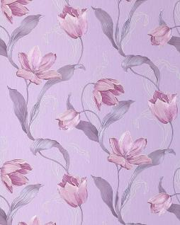 blumen tapete edem 828 29 deluxe tulpen blumentapete. Black Bedroom Furniture Sets. Home Design Ideas