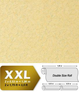 XXL Spachtel Vliestapete Putz Tapete EDEM 925-32 Doppelte Breite Deluxe Design Stucco Veneziana spachtel-optik creme-gold 10, 65 qm