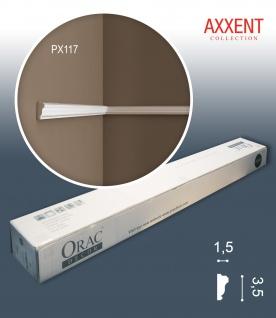Orac Decor PX117 AXXENT 1 Karton SET mit 10 Stuckleisten Wandleisten | 20 m