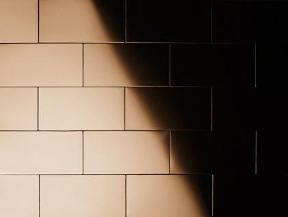 Mosaik Fliese massiv Metall Titan hochglänzend in kupfer 1, 6mm stark ALLOY Subway-Ti-AM 0, 58 m2 - Vorschau 4