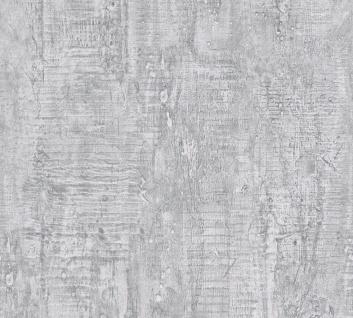 Stein Kacheln Tapete Profhome 944265-GU Vliestapete leicht strukturiert in Steinoptik matt grau 5, 33 m2