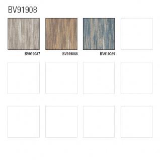 Streifen Tapete Profhome BV919088-DI heißgeprägte Vliestapete strukturiert mit abstraktem Muster matt braun ocker creme-weiß 5, 33 m2 - Vorschau 2