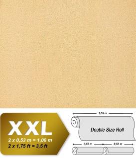 Uni Tapete Vliestapete EDEM 917-23 Tapete in XXL Hochwertige Luxus geprägte Struktur aprikose orange gold | 10, 65 qm