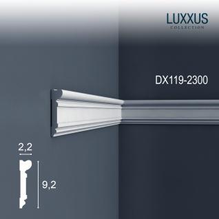 Türumrandung Stuck Orac Decor DX119-2300 LUXXUS Zierleiste Wandleiste Rahmen Dekor Element Friesleiste | 2, 3 Meter
