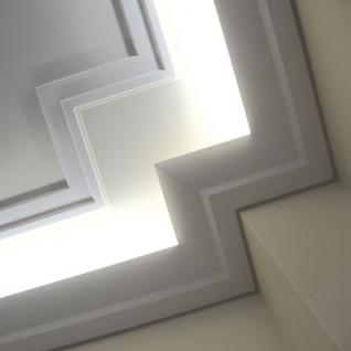 Dekor Profil Orac Decor C351 LUXXUS Eckleiste Zierleiste für indirekte Beleuchtung Wand Decken Stuckprofil 2 Meter - Vorschau 3
