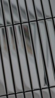 Mosaik Fliese massiv Metall Edelstahl marine hochglänzend in grau 1, 6mm stark ALLOY Linear-S-S-MM 0, 94 m2 - Vorschau 5