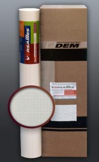 EDEM 80375BR60 Vliestapete überstreichbar Stoff Textur geometrische Textil-Fasern Struktur weiß 1 Kart 6 Rollen 159 qm
