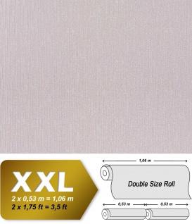 Geprägte Tapete Vliestapete EDEM 940-39 XXL Perlmuttglanz hochwertige 3D Struktur pastell-lila hell-grau 10, 65 qm