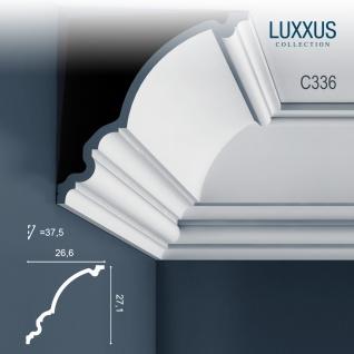 Eckleiste Dekor Profil Orac Decor C336 LUXXUS Decken Wand Stuck Gesims Dekorleiste Profilleiste | 2 Meter