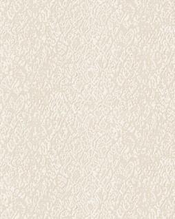 Tiermotiv Tapete Profhome DE120121-DI heißgeprägte Vliestapete geprägt mit Schlangenmuster glänzend creme 5, 33 m2