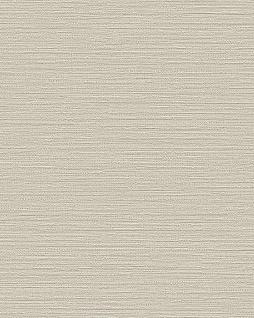 Ton-in-Ton Tapete Profhome BA220034-DI heißgeprägte Vliestapete geprägt unifarben dezent schimmernd beige beige-grau 5, 33 m2