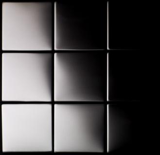 Mosaik Fliese massiv Metall Edelstahl hochglänzend in grau 1, 6mm stark ALLOY Attica-S-S-M 0, 85 m2 - Vorschau 4