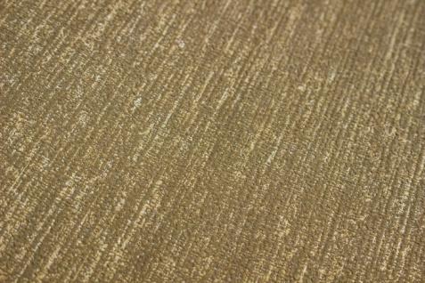 Hochwertige Ton-in-Ton Tapete Atlas COL-526-2 Vliestapete glatt mit abstraktem Muster schimmernd gold bronze 5, 33 m2 - Vorschau 3
