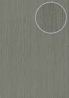Edle Uni Tapete Atlas COL-497-2 Vliestapete glatt mit Streifen schimmernd grau quarz-grau gold 5, 33 m2