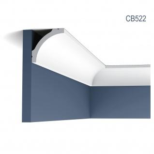 Eckleiste Stuck Orac Decor CB522 BASIXX Zierleiste Dekorprofil Stuck Dekor Wand Leiste Decken Leiste 2 Meter