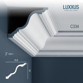 Eckleiste Dekor Profil Orac Decor C334 LUXXUS Decken Wand Stuck Gesims Dekorleiste | 2 Meter