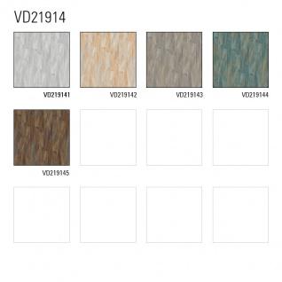 Streifen Tapete Profhome VD219144-DI heißgeprägte Vliestapete geprägt mit Streifen dezent schimmernd blau creme-weiß bronze 5, 33 m2 - Vorschau 3