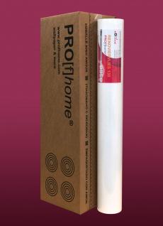 Profhome Renoviervlies 130 g Malervlies glattes Vlies rissüberbrückende Vliestapete weiß | 1 Karton 4 Rollen 75 qm