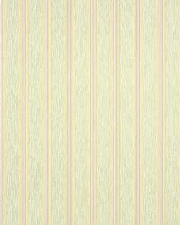 Streifen Tapete EDEM 112-35 Stilvolle Design Tapete Vinyltapete hell-grün safran-gelb hell-violett silber-grau
