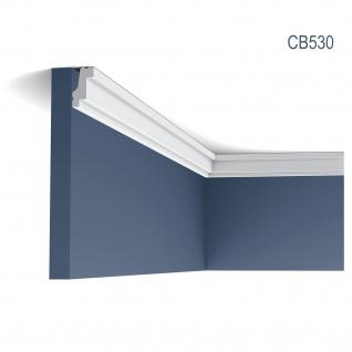Eckleiste Stuck Orac Decor CB530 BASIXX Stuckleiste Zierleiste Stuckprofil Dekor kantig Wand Decken Leiste | 2 Meter