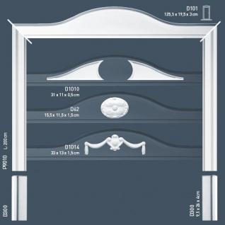 Flexible Wand Leiste Stuckprofil Orac Decor P9010F LUXXUS Friesleiste Rahmen Dekor Profil FLEX Leiste stoßfest | 2 Meter - Vorschau 5