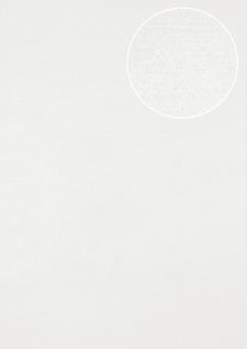 Ton-in-Ton Tapete Atlas SIG-587-1 Vliestapete glatt mit abstraktem Muster schimmernd creme perl-weiß rein-weiß 5, 33 m2