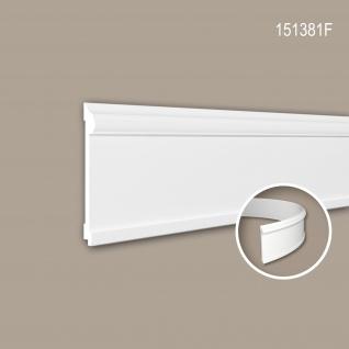 Wand- und Friesleiste PROFHOME 151381F Stuckleiste Flexible Leiste Zierleiste Neo-Klassizismus-Stil weiß 2 m
