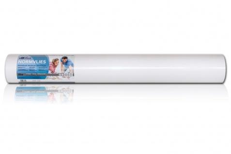 NORMVLIES 150 g Renoviervlies 6 Rollen 112, 5 m2 Glattvlies Malervlies glatte überstreichbare Vliestapete weiß - Vorschau 3