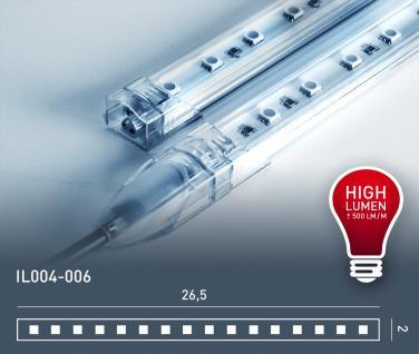 LED Bar für indirekte Beleuchtung high lumen Orac Decor IL004-006 260 mm IP50 24V