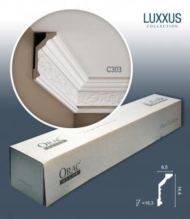Orac Decor C303 LUXXUS 1 Karton SET mit 14 Stuckleisten | 28 m
