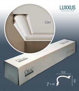 Orac Decor C341 LUXXUS 1 Karton SET mit 12 Stuckleisten | 24 m