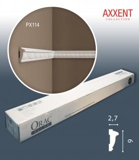 Orac Decor PX114 AXXENT 1 Karton SET mit 30 Wandleisten Zierleisten | 60 m