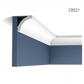Eckleiste Stuck Orac Decor CB521 BASIXX Zierleiste Stuckleiste Stuckprofil Stuck Dekor Wand Leiste Decken Leiste 2 Meter