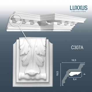 Dekor Profil Orac Decor C307A LUXXUS Stuck Zierelement Wand Dekor Gesims für Profilleiste Deckenleiste C307
