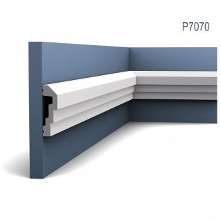 Wandleiste Stuck Orac Decor P7070 LUXXUS Wandprofil Stuck Profil Friesleiste Dekor Leiste Zierleiste Wand | 2 Meter