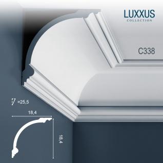 Stuck Zierleiste Orac Decor C338 LUXXUS Eckleiste Profilleiste leiste Deckenprofil Wandleiste klassisch | 2 Meter