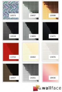 Wandpaneel Wandverkleidung WallFace 10657 M-Style Design Tapete Metall Dekor selbstklebend spiegelnd silber | 0, 96 qm - Vorschau 4