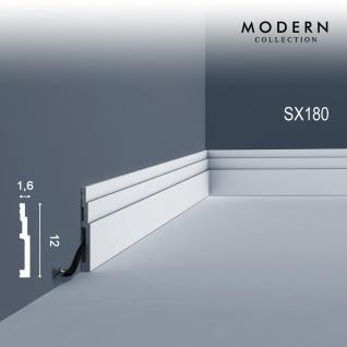 Orac Decor SX180 MODERN 1 Karton SET mit 12 Sockelleisten Zierleisten | 24 m - Vorschau 2