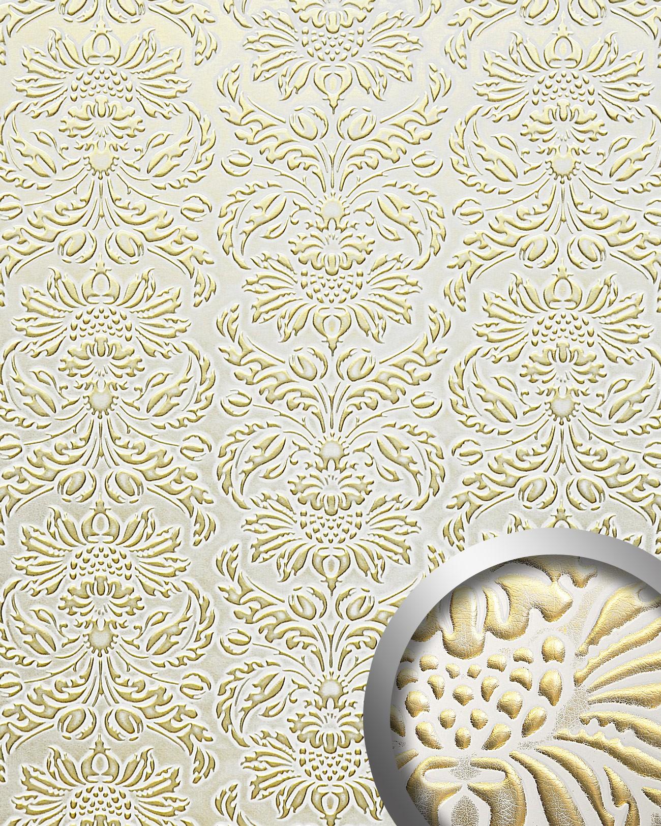 Wandpaneel Luxus 3d Wallface 14793 Imperial Leder Dekor Barock