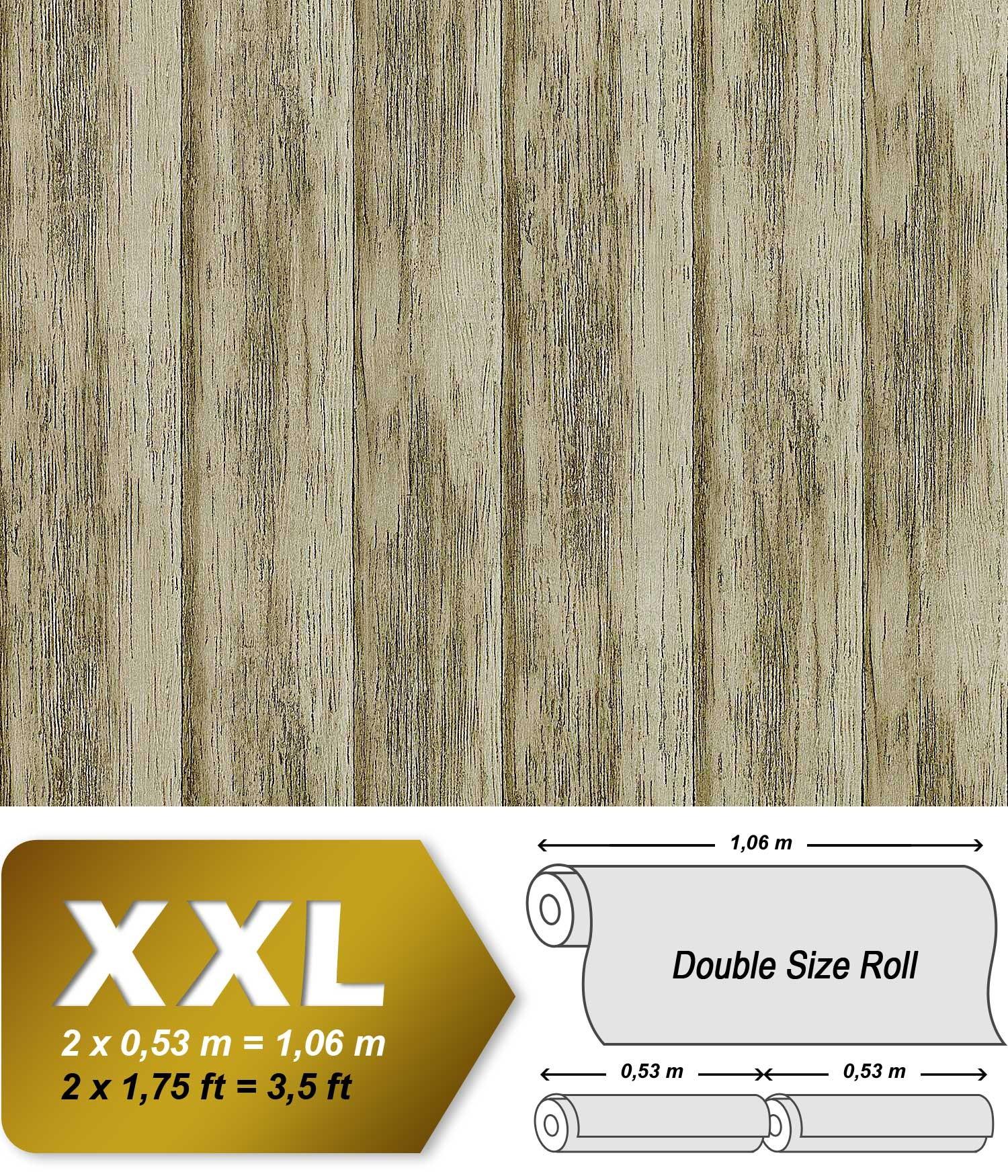 Holz Tapete Vliestapete Edem 944 28 Shabby Chic Gepragte Tapete In