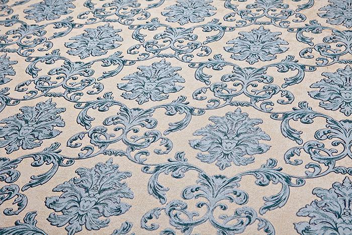 tapeten blau top barock tapete edem vliestapete geprgt. Black Bedroom Furniture Sets. Home Design Ideas